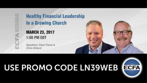 Webinar: Healthy Financial Leadership in a Growing Church